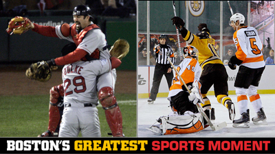 Is Red Sox' 2004 World Series Win or Marco Sturm's Winter Classic Game-Winner a Bigger Boston Sports Moment?