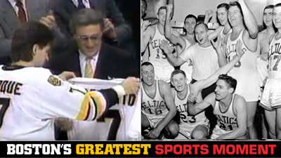 Is Ray Bourque Giving No. 7 to Phil Esposito or Celtics' First NBA Title a Bigger Boston Sports Moment?