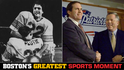 Is Doug Flutie's Hail Mary or Bill Belichick's Resignation as Jets' Head Coach a Bigger Boston Sports Moment?
