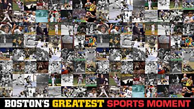 Breaking Down Boston's Greatest Sports Moment Bracket