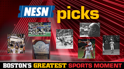 Bobby Orr, Adam Vinatieri, Dave Roberts Among Favorites to Take Home Boston's Greatest Sports Moment Title
