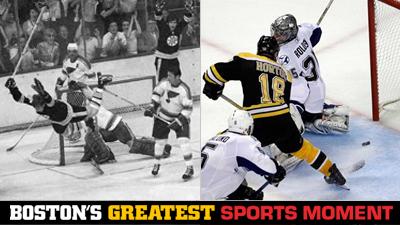 Is Bobby Orr's Famous Goal or Nathan Horton's Game 7 Winner Against Lightning a Bigger Boston Sports Moment?