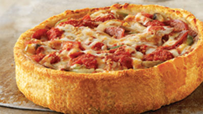 Get 'The Works' Deep Dish Pizza This Week During Menupalooza at Uno Chicago Grill