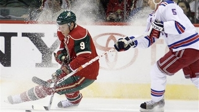 Minnesota Goes Wild with Series of Deals with Sharks, Hoping that Dany Heatley and Co. Can Help Get Club back in Playoffs