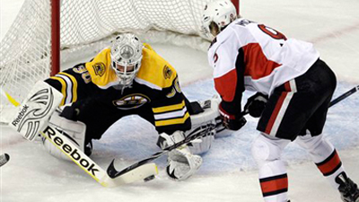 Tim Thomas Doesn't Face Many Shots in Loss, But Bruins Goalie Says He'll Be Ready for Regular Season