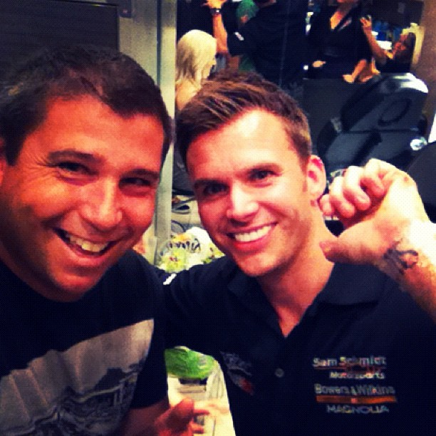 Dan Wheldon, Wife Got Tattoos of Each Other's Initials Night Before Deadly Crash