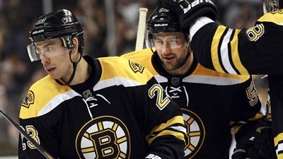 Did Patrice Bergeron, Milan Lucic or Chris Kelly Score the Captain Morgan Goal of the Week?