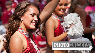 LSU, Alabama Cheerleaders and Fans Represent Everything That Makes College Football Great (Photos)