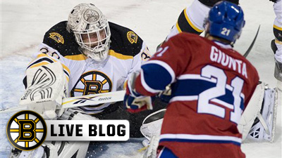 Bruins Live Blog: Tim Thomas Leads B's to Ninth Straight Win As Boston Holds Off Habs 1-0 in Montreal