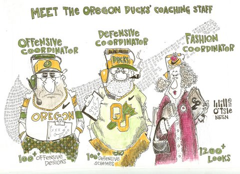 Oregon Ducks Have More Uniforms Than Offensive and Defensive Schemes