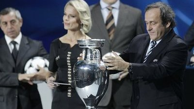 Michele Platini Considered Moving Euro 2012 Out of Poland and Ukraine (Video)