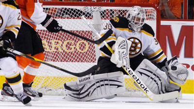 Tim Thomas Shakes Off Shaky Start, Delivers Incredible 52-Save Effort to Lift Bruins to 2-0 Series Lead Over Flyers