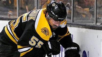 Johnny Boychuk Avoids Serious Injury From Steve Downie Hit, Bruins Defenseman Expected to Play in Game 6