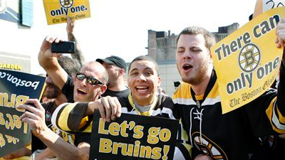Crowd for Bruins Stanley Cup Parade Is Largest Ever for Championship Celebration in Boston