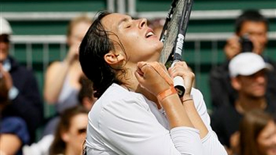 No. 9 Ranked Marion Bartoli Tosses Parents From Wimbledon Match