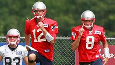Brian Hoyer: 'It Just Feels Good' to Beat Tom Brady in Barrel Drill