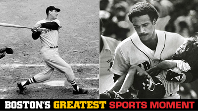 Is Ted Williams' .406 Season or Jim Rice Saving a 4-Year-Old's Life a Bigger Boston Sports Moment?
