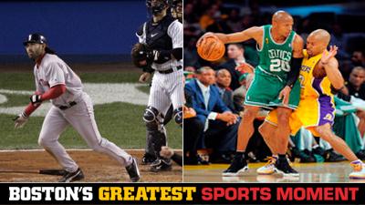 Is Johnny Damon's '04 ALCS Grand Slam or Ray Allen Leading 24-Point Comeback a Bigger Boston Sports Moment?