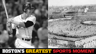 Is Red Sox 'Impossible Dream' Team Winning Pennant or Boston Americans Winning First World Series a Bigger Boston Sports Moment?