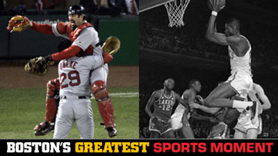 Is Red Sox' 2004 World Series Win or Bill Russell's 1962 NBA Finals Game 7 a Bigger Boston Sports Moment?