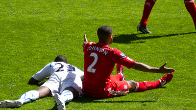 Liverpool Defender Glen Johnson Bemoans Latest Hamstring Injury: 'Can't Believe My Luck'