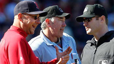 David Ortiz, Terry Francona Upset Over Blown Call That Ended Red Sox Rally in Loss to Orioles