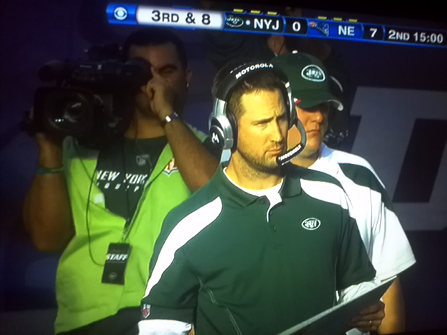 Jets Appear to Pull 'Spygate' Move Against Patriots on Sunday, But Sideline Camera During Game Was Within Rules (Photo)