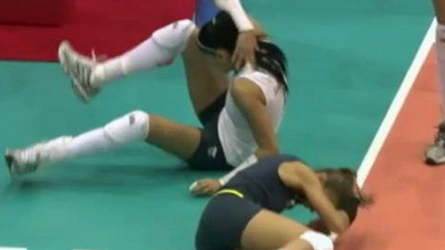 Brazilian Volleyball Player Out of Pan-Am Games After Suffering Neck Fracture During Match