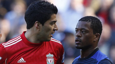 Report: Luis Suarez Continues to Deny Racism Allegations As Patrice Evra Lodges Formal Complaint