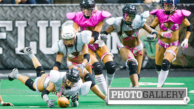 Lingerie Football League Features Different Rules, No Shortage of Contact (Photos)