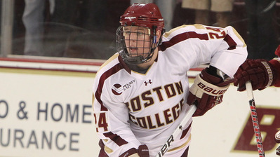 Sophomore Bill Arnold's Fast Start Headlining Another Impressive Boston College Campaign