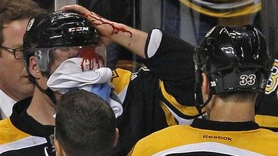 Daniel Paille Suffers Facial Injury Blocking Shot, Putting Damper on Another Resounding Bruins Victory