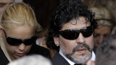 Diego Maradona Buries Mother, Dalma Salvadora Franco de Maradona, After She Passed Away at Age 82
