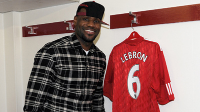 LeBron James Loves Liverpool FC?s History, Global Appeal and Pursuit of Championships
