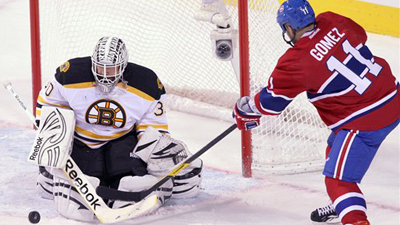 Tim Thomas Continues Domination on Road With Another Shutout in Montreal