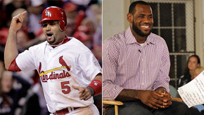 Albert Pujols Could Surpass LeBron James as Most Vilified Sports Star in America