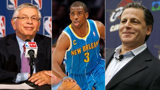David Stern, Dan Gilbert Help NBA Look Like Complete Joke by Nixing Chris Paul Trade