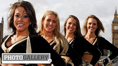NFL Cheerleader Gallery of the Day: Saintsations Are a Big Hit in the Big Easy