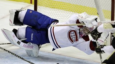 Carey Price to Stop Wearing Breast Cancer Awareness-Themed Pink Goalie Pads After Winless Start