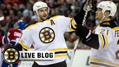 Bruins Live Blog: Habs Hand B's Another Loss As Boston Falls 4-2 in Montreal