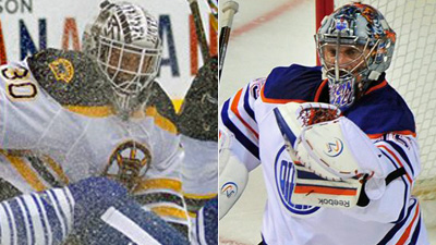 Who Is the Only Goaltender to Win At Least 100 Games With Both the Oilers and Bruins?