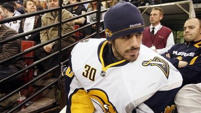 Ryan Miller Says Injury From Milan Lucic Hit May Have Been in Neck, Not Concussion