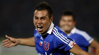 Eduardo Vargas Signs With Napoli, Snubs Move to English Premier League