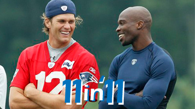Tom Brady's Continued Historic Play, Chad Ochocinco's Arrival Among Top 11 Patriots Storylines of 2011