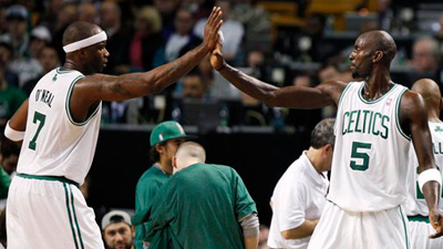 Jermaine O'Neal Showcases His Offensive Potential With Big Showing in Celtics' First Win