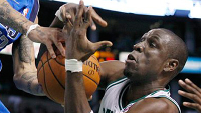 Mickael Pietrus Happy to Fight, Shoot for Celtics