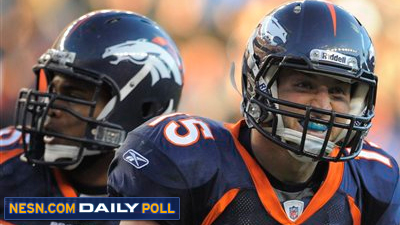 Vote: Are You Sick of 'Tebowmania' Heading Into Broncos-Patriots Game?