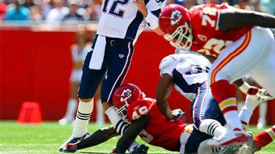 Bernard Pollard Addresses 2008 Season-Ending Hit on Tom Brady, Calls Quarterback 'The Pretty Boy'