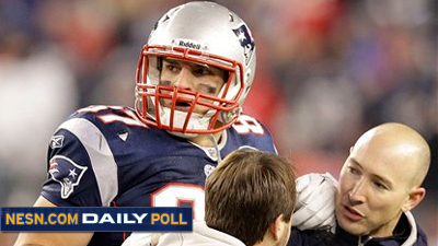 Vote: Are You Concerned About Rob Gronkowski's Ankle?