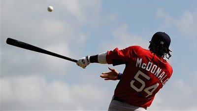 Darnell McDonald Ready to Assist in Red Sox Outfield, Adjusting to Bobby Valentine's 'Shag-Free' Camp